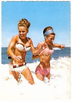 Why don't people wear updos at the beach anymore?