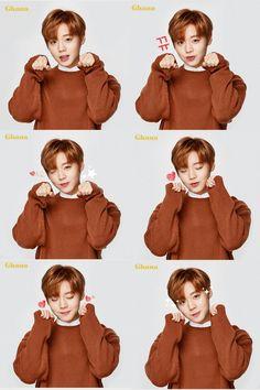 Park Jihoon being cute. Park Jihoon Produce 101, Swing, Cho Chang, Park Bo Gum, Produce 101 Season 2, Child Actors, Kim Jaehwan, Ha Sungwoon, 3 In One