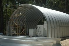 How to build a Quonset Hut.