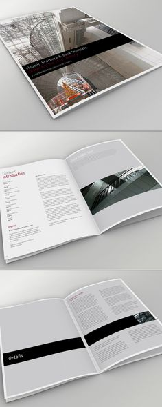 Elegant Brochure + Book Template