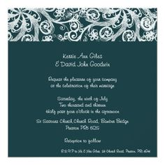 Choose from thousands of customizable wedding invitation templates or create your own from scratch. Square Wedding Invitations, Custom Wedding Invitations, Save The Date, Rsvp, Reception, Romantic, Dark, Green, Personalised Wedding Invitations