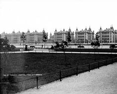 St Thomas Hospital, Lambeth Palace Road, Lambeth, London Old Pictures, Old Photos, Waterloo Road, Waterloo Station, London History, London Places, Vintage London, South London, St Thomas