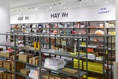 Recreating its pop-up shop at Milan Design Week earlier this year, Danish brand HAY has opened a mini market concept within Selfridges Oxford Street flagship store as part of London Design Festival. The colour palette is straight out of our Aura collection http://www.signarture.com.au/collections/aura-perspex-artworks