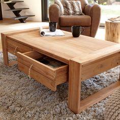 Minimalys Teak Coffee Table 120x70