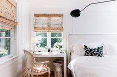 desk as nightstand