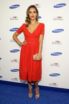 Jessica Alba Jessica Alba attends the Samsung Hope For Children Gala 2014 on June 10, 2014 in New York City.
