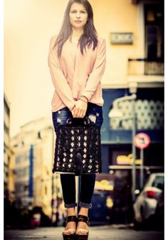 Tote Bag Shoulder Bags, Sequin Skirt, Sequins, Tote Bag, Elegant, Skirts, Fashion, Classy, Moda