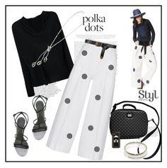 """So Dotty: Polka Dots♥♥♥"" by marthalux ❤ liked on Polyvore featuring Emilio Pucci, Diane Von Furstenberg, Emporio Armani, IRO, Dolce&Gabbana, Hermès, Fendi, Alberta Ferretti, StreetStyle and So"