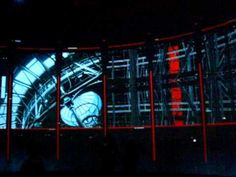 Kaledscopic architectural projection utopia!  Greenaway and Greenaway from Ron Arad's Curtain Call