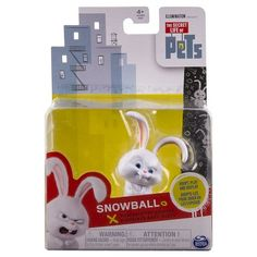 The Secret Life of Pets - Snowball Poseable Pet Figure : Target