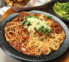 Don't worry about cooking tonight! Order our Spaghetti and Meatballs. #BMPP https://ordernow.bigmamaspizza.com