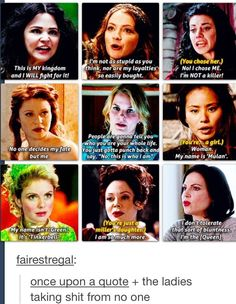 Once upon a time had the best characters ❤️