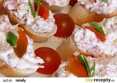 Hradecká pomazánka recept - TopRecepty.cz Yummy Appetizers, Appetizer Recipes, Snack Recipes, Cooking Recipes, Healthy Recipes, Czech Recipes, Russian Recipes, Ethnic Recipes, Good Food
