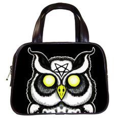 Occult Owl Handbag by Stuff of the Dead