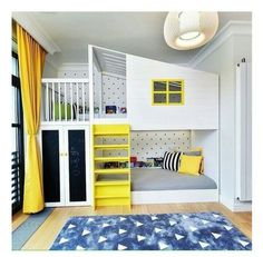 The Yellow Color Usually Will Not First Comes To Our Mind, When We Think Of  Decorating Childrenu0027s Rooms.