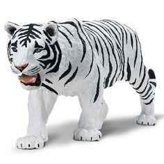 Mammal Figures - White Siberian Tiger Wildlife Wonders Safari Ltd