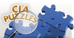 CIA Puzzles Logo Puzzle Logo, Kids Pages, Puzzles, Logos, School, Puzzle, Riddles, Logo