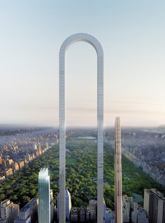 "interesting concept! #IADDIC ""The Big Bend"" Imagines the World's Longest Skyscraper for Billionaires' Row in NYC http://www.archdaily.com/867567/the-big-bend-imagines-the-worlds-longest-skyscraper-for-billionaires-row-in-nyc"