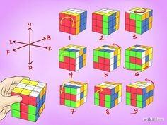 Gambar Berjudul Make Awesome Rubiku0027s Cube Patterns Step 10