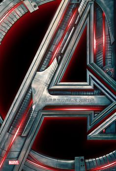 Oh, hello. Didn't see you there. Just enjoying the first official poster for Avengers: Age of Ultron.