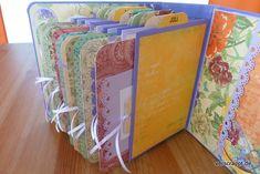 Baby-Girl-Mädchen-Mini-Album-Minialbum-Geburt-Geschenk-aufgestellt-hinten