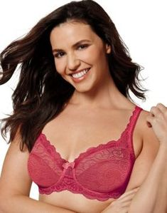 f17a882cb62 Playtex Love My Curves Beautiful Lift Unlined Underwire Bra  US4825 in  Sparkling Red