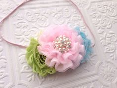 The Candy Crush Headband or Hair Clip on Etsy, $13.99