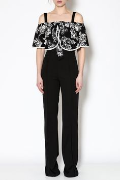 Shoptiques Product: Black Sleeveless Jumpsuit - main