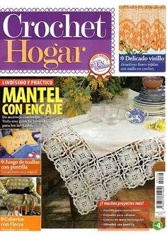 crochet hogar 2009 - Yadira martínez - Picasa Web Albums #crochetmagazine