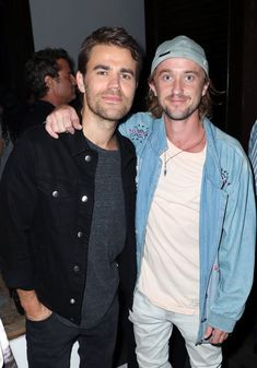 Tom Felton Photos - Paul Wesley (L) and Tom Felton attend the Fandom Party during Comic-Con International 2018 at Float at Hard Rock Hotel San Diego on July 19, 2018 in San Diego, California. - FANDOM Party Presented by 'The Gifted' on FOX at SDCC