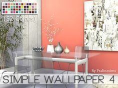 By Pralinesims  Found in TSR Category 'Sims 4 Walls'