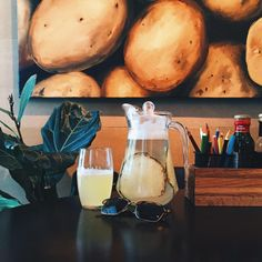 Fiery Pineapple lemonade #bisquecafe #beatgroup #baku #azerbaijan #lemonades #healthyfood #pineapple #fierypineapple #summer2015 #delious #healthycafe #baku2015