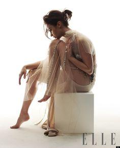Emily Blunt for Elle magazine  #celebs #photography #fashion