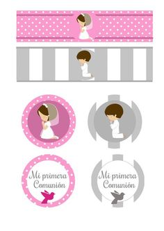 Sweet First Communion Free Printable Invitations in Silver with Precious Moments Angels . You can use this free printables for . First Communion Banner, First Communion Decorations, First Communion Invitations, First Holy Communion, Free Printable Invitations, Templates Printable Free, Free Printables, Candy Bar Comunion, Birthday Banner Template