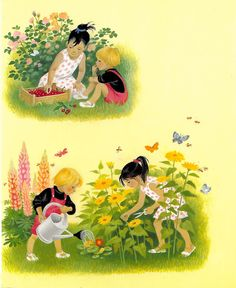 """""""Summer"""" - part of a series of illustrated board books about the seasons. From Floris Books"""