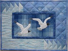 Sea Gulls Wall Quilt Pattern by donnaburkholder on Etsy, $6.00
