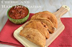 Cheese and Ham Empanadas #WeekdaySupper