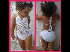 """Short infantil 1 á 2 anos pass More Than Women Worldwide Have Been Successful in Treating Their Ovarian Cysts In Days, and Tackle The Root Cause Of PCOS Using the Ovarian Cyst Miracleâ""""¢ System! Here is a crochet swimsuit tha Here is a crochet swimsu Baby Girl Crochet, Crochet Baby Clothes, Crochet For Kids, Crochet Bikini, Knit Crochet, Crochet Videos, Baby Knitting, Baby Dress, Crochet Projects"""
