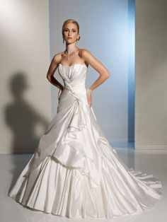 by Sophia Tolli | Wedding Dresses|style #Y11202 - Mariposa. LOVE the beading on front and back.