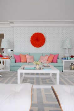 cool chic style fashion: LIVE COLORFULLY | Maria Barros Design de Interiores
