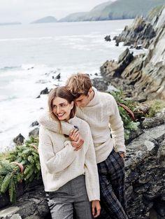 J.Crew women's Collection handknit turtleneck sweater
