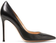 Gianvito Rossi - 105 Leather Pumps - Black #ad #shoes #fashion #shopping #pumps