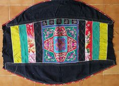 Hey, I found this really awesome Etsy listing at https://www.etsy.com/uk/listing/528598355/vintage-hmong-miao-baby-carrier-h243