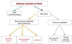 Thanks, @food intolerance network for this flowchart on the difference between #foodallergy & #foodintolerance!