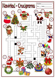Crucigrama Navidad