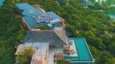 Luxury Sunset Rooftop Bar at Baba Nest, Sri panwa Phuket Resort Thailand