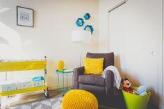 Colorful Nursery Design by @Decorist Designer Vincenza Ronana,