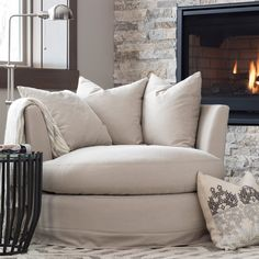 Alpha Stone Swivel Chair Alpha Stone Swivel Chair,Banken Related posts:Greek Style Braised Chicken with String Beans: Kota me Fasolakia - String bean newest small living room decor apartment ideas 22 Living Room Furniture, Home Furniture, Living Room Decor, Furniture Design, Wooden Furniture, Outdoor Furniture, Furniture Plans, Antique Furniture, Fireplace Seating