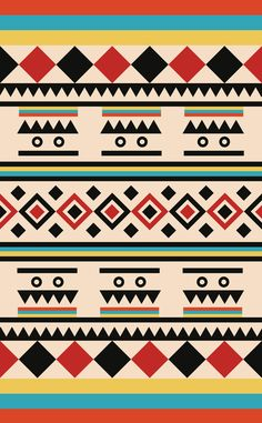 TRIBAL PATTERN Art Print