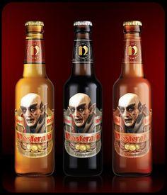"Nosferatu Beer. More ""monster"" beer for all you beer loving packaging peeps. PD"